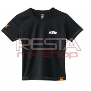 Kids Racing Tee Black