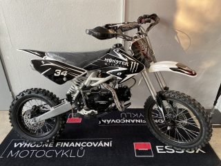 Dirtbike Thunder 125cc 17/14 4G - černý, model 2021
